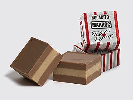 FELFORT Chocolates, Bombones y Bocaditos (Paraguitas de Chocolate, Pack of 10)