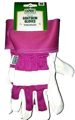Ladies Goatskin Leather - Ladies' Goatskin Leather Gardening Gloves(1 Pair,Size Medium)