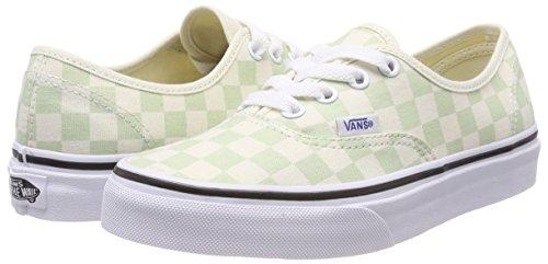 Vans Sneaker Authentic Donna checkerboard Verde SS7FrU