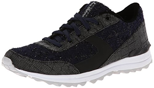 Dax Sneaker Edelman Boucle Navy Women's Sam Black Fashion TIERwwq