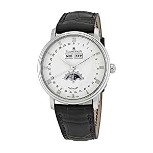 Best Epic Trends 41IkiG8iMdL._SS300_ Blancpain Quantieme Complet Automatic White Dial Men's Watch 6263-1127-55B