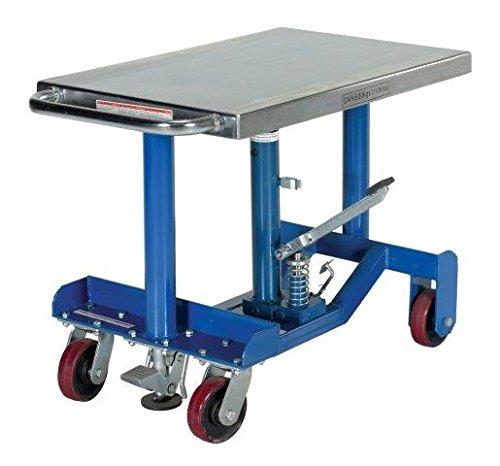 Adjustable Table - BPT12 Series; Platform Size (W x L): 24'' x 36''; Capacity: 2,000 lbs; Service Range: 25'' to 37''; Power: Foot Pump