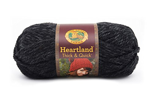 153 Yarn (Lion Brand Yarn 137-153 Heartland Thick and Quick Yarn, Black Canyon)