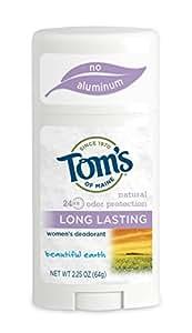 Toms Of Maine 44884 Btfl Ert Long Lasting Deodorant Stick
