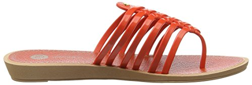 Orange Grendha Sandales Strings Thong Femme Coral Orange fRRFXZwz