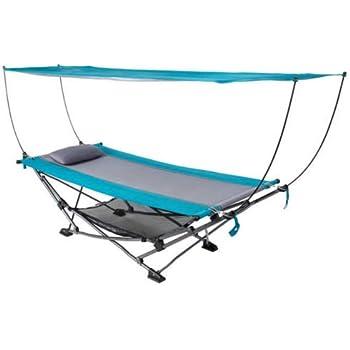 Amazon.com: Silla de playa plegable independiente con toldo ...