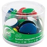 Lebez 2777 Bottoni Magnetici, Confezione 60