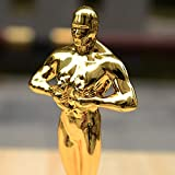 Lawei 3 Pack 10 inch Gold Award Trophy - Oscar