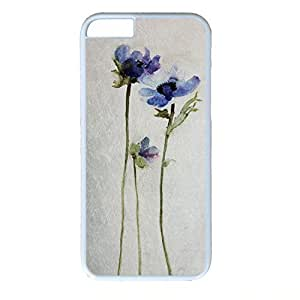 Hard Back Cover Case for iphone 6,Cool Fashion White PC Shell Skin for iphone 6 with Ink Painting