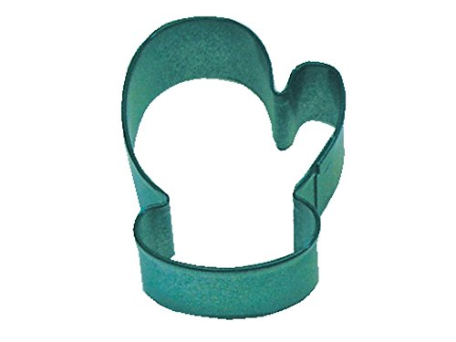 CybrTrayd R&M Mitten Durable Cookie Cutter, Mini, Green, Bulk Lot of 12