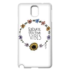 Good Vibes Customized Cover Case for Samsung Galaxy Note 3 N9000,custom phone case ygtg582169