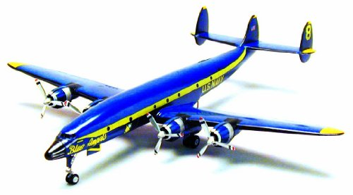 #14468 Minicraft Model Kits USN Blue Angel Lockheed C-121J Super Consolation 1/144th Scale Plastic Model Kit,Needs - Minicraft Kit