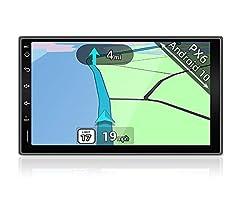 4G+64G 2005-2019 YUNTX PX6 Android 10 Autoradio Compatible con Suzuki Swift // GPS // 4G // WiFi//Bluetooth//Mirrorlink//Carplay//Control del Volante Soporte Dab - C/ámara Trasera Gratis -