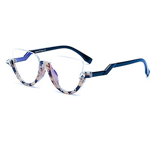 Rimless Fashion Sunglasses - FAGUMA Semi Rimless Cat Eye Sunglasses For Women Fashion Chic Shades