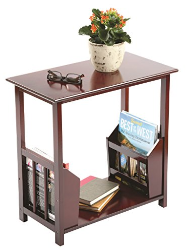 end table magazine rack - 1