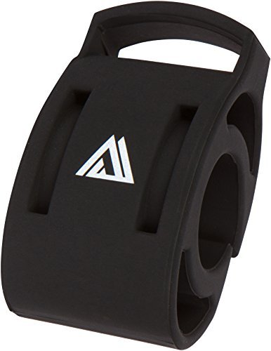 Bicycle Watch Mount from KOM Cycling - Attach Watch to Bike - Designed for Garmin Forerunner Watch Series and other Watches by KOM Cycling