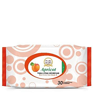 Cell Renewal Apricot Refreshing Cleansing Wipes (30 pack)