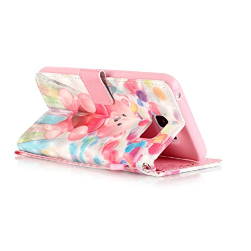 PU Carcasa de silicona teléfono móvil Painted PC Case Cover Carcasa Funda De Piel Caso de Shell cubierta para Samsung Galaxy Note 5N920+ Polvo Conector blanco 1 5