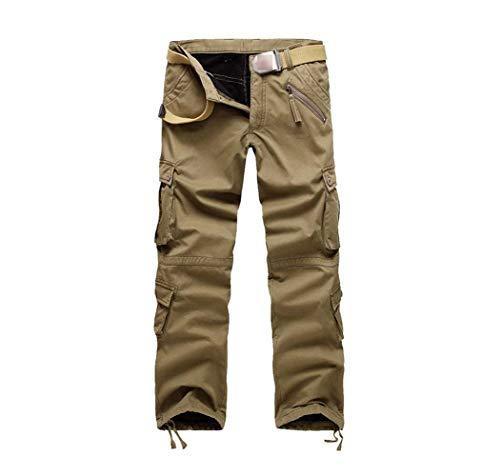 Plusieurs Kaki Saoye Travail Mode Occasionnels Avec Poches Lâche Jogging Pour Hommes De Vêtements Pantalons Charge RPxR6qFwS