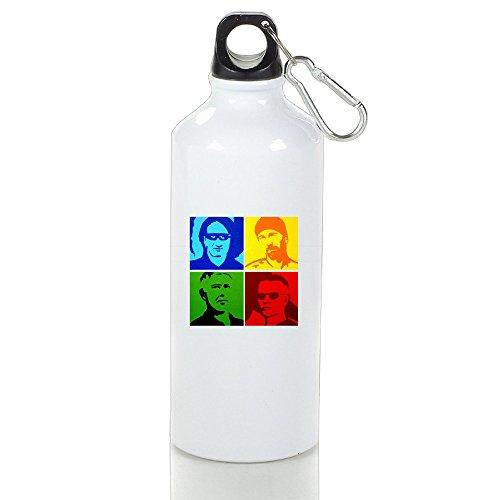 POOZ U2 Unique Sport Bottle With Carabiner Hook