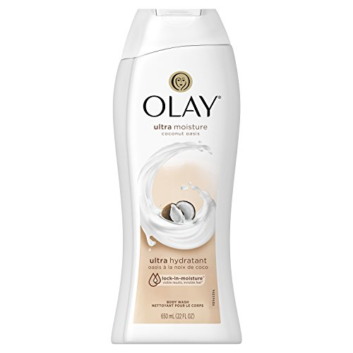 (Body Wash for Women by Olay, Ultra Moisture Coconut Oasis Body Wash, 22 Fluid Ounce)