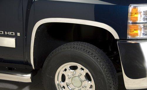 Putco 97289 Stainless Steel Full Fender Trim Kit for Chevrolet Silverado