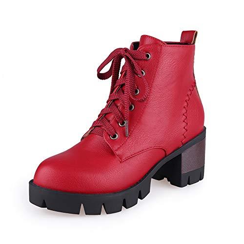 Sandales Abl10947 Femme Compensées Balamasa Red Tpwx0n7a