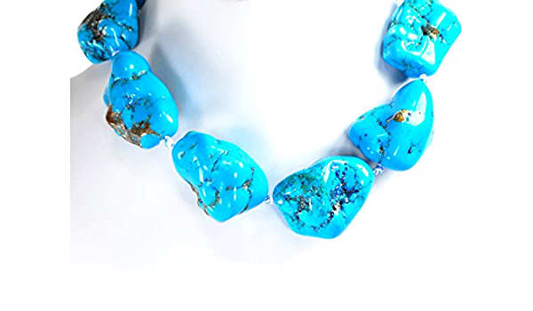 30-40mm Aqua blue Flat Magnesite Chunky Beads in Turquoise Nugget Beads for wire bangle Tassel bracelet jewelry makers tassel focal point