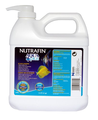 Nutrafin Aqua Plus Water Conditioner, 68-Ounce