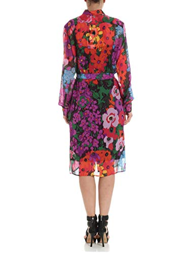 Donna Vestito sixty Multicolorest Flower Twinset Milano fyvY6g7b