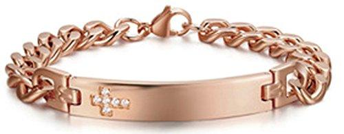 herren armband rosegold
