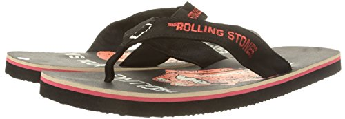 Rolling Stones - Us Tr Blk Herren Sandale Größe: L