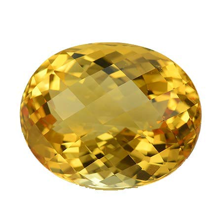 - 8x10mm Natural Citrine Oval Checkerboard Cut 25 Pieces Yellow Beautiful Loose Gemstone Wholesale Lot For Sale
