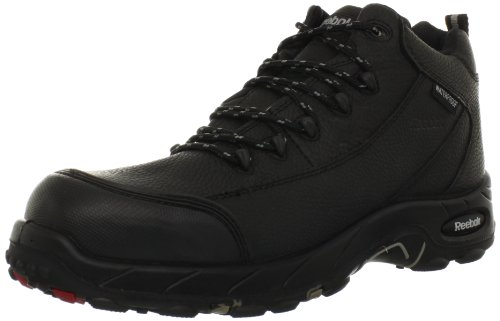 Reebok Work Men's Tiahawk RB4555 Work Boot,Black,12 M US (Man Boots For Sale)