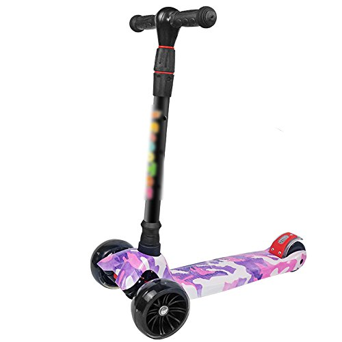 Amazon.com : QFFL pignhengche Scooter Three-Wheeler Beginner ...
