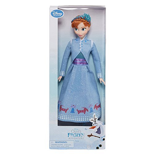 Disney Collection Frozen Anna 12 Inch Classic Doll Olaf's Frozen (Disney Collection Frozen Anna Costume)