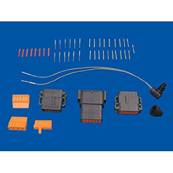 Sdometer Connector Kit for Harley 96-99 Harness to 00-03 Sdos ... on harley wiring tools, harley dash wiring, harley motorcycle stereo amplifier, harley bluetooth interface, harley stator wiring, harley clutch diaphragm spring, harley headlight adapter, harley wiring kit, harley banjo bolt, harley wiring connectors, harley choke lever, harley headlight harness, harley timing chain, harley tow bar, harley dash kit, harley clutch rod, harley crankcase, harley belly pan, harley wiring color codes, harley trunk latch,