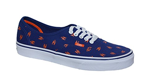 Mets Print Vans Authentic Blue Royal gwATqTt