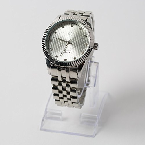 Mens 14k Tone Iced out Simulated Diamond Hip Hop Rapper Techno Pave Watch - Watch Iced Out Tone