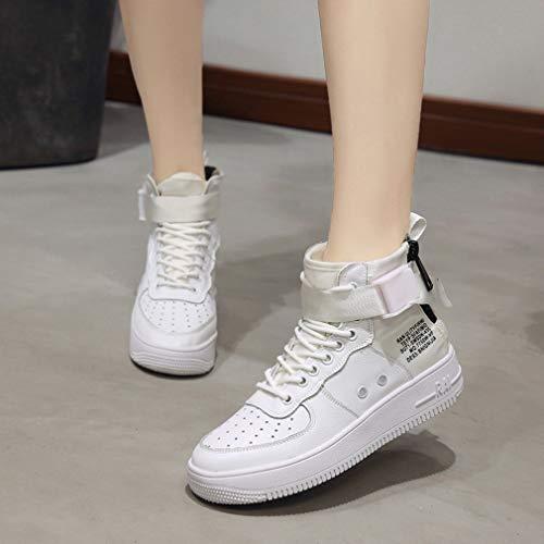 Da Di Deck High Top Yan Up Knit Tela Donna Scarpe Sneakers Shoes Per xUg6qXXw