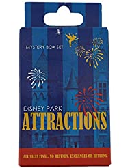Disney Pin - Park Attractions Mystery Pin Collection - Mystery Pin Box