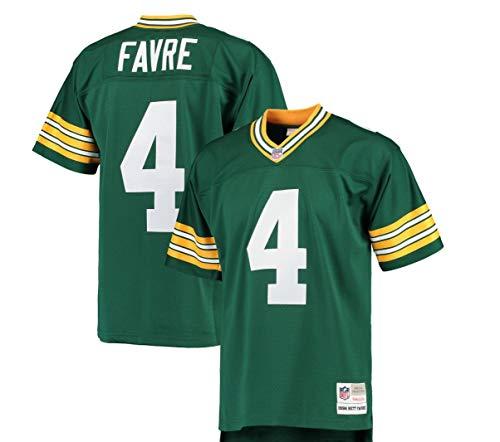 Mitchell & Ness Brett Favre Green Bay Packers Throwback Jersey 5X ()