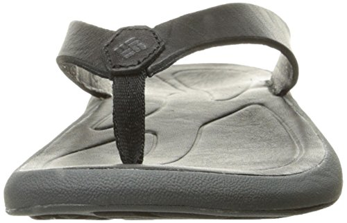 Flip Black Leather Columbia Caprizee Athletic Shark Women's Sandal qZZFHwTA