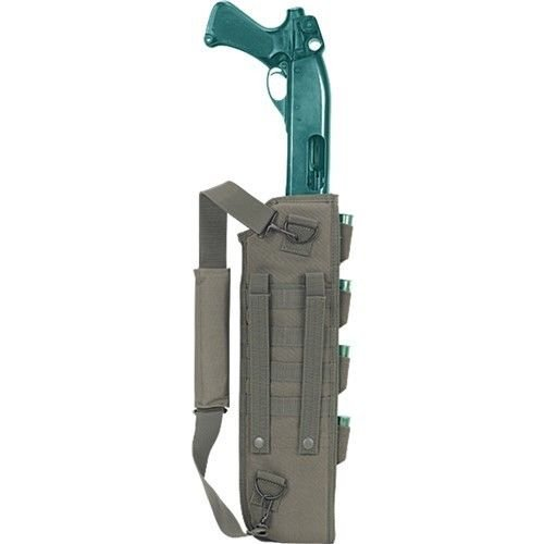 VooDoo Tactical 20-8916004000 Breacher's Shotgun Scabbard, OD, One Size
