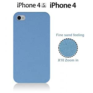 Frosted Surface Hard Back Plastic For SamSung Galaxy S4 Mini Case CoverBlue