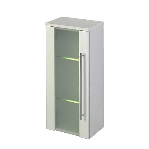 Badezimmer Hängeschrank mit Beleuchtung Glastür Mit Beleuchtung ...