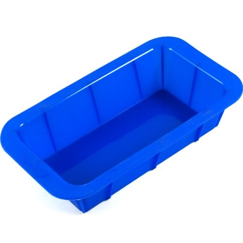 Baker's Secret Blue Silicone Loaf Pan (Bakers Secret Rectangular Pan)