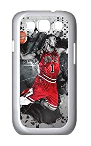 Generic Personalized Protective Case for Samsung Galaxy S3 I9300 - NBA Sports Chicago Bulls #1 Derrick Rose Luginbuhl