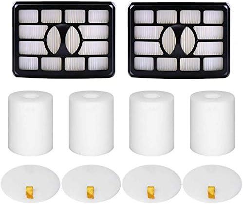 ZLZH ITidyHome 2 HEPA + 4 Foam & Felt Filters for Shark Rotator Pro Lift-Away NV500, NV501, NV502, NV503, NV505, NV510, NV520,NV552,UV560, Replacement Filter Part Xff500 Xhf500