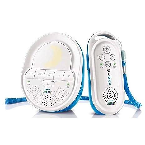 Vigilabeb/é 330 m, 120 canales, 50 m, Blanco, Corriente alterna, Bater/ía, 34 h Philips AVENT Audio Monitors SCD503//26 video-monitor para beb/és 330 m Blanco